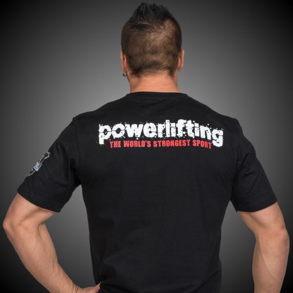 METAL Powerlifting T-shirt - GOMETAL.COM