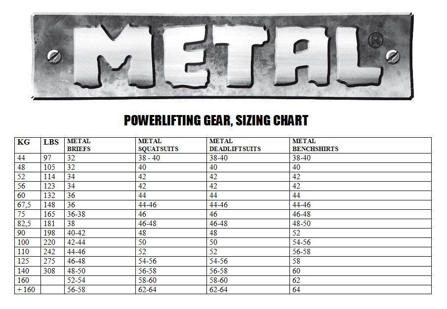 Metal Pro King Deadlift Suit Gometal Com