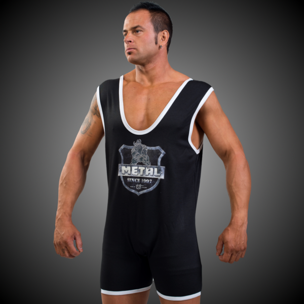 singlet powerlifting singlets arms gometal strongman ipf metal thread approved xviii appreciation official