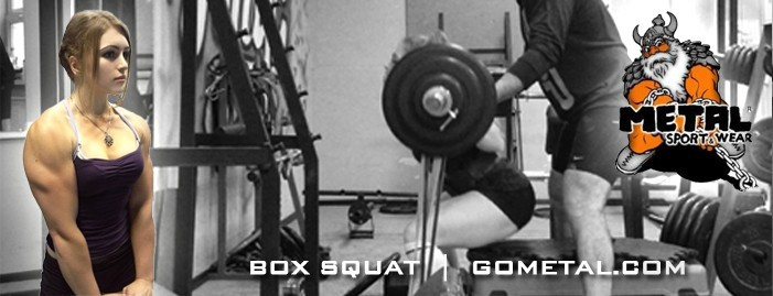 Julia Vins box squat